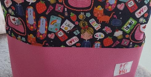 Hand-sewn project bag