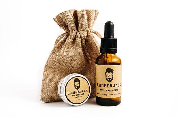 Beard Oil 30ml and Wax 15ml Set - The Bohemian