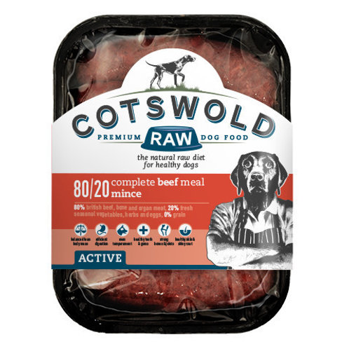 Costwold Beef Mince 80/20 Active -1 Kg