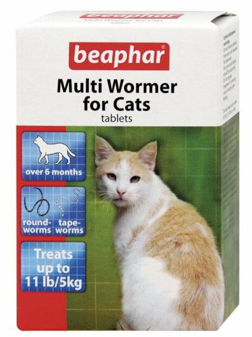 Beaphar Multi Wormer For Cats 12 Tablet