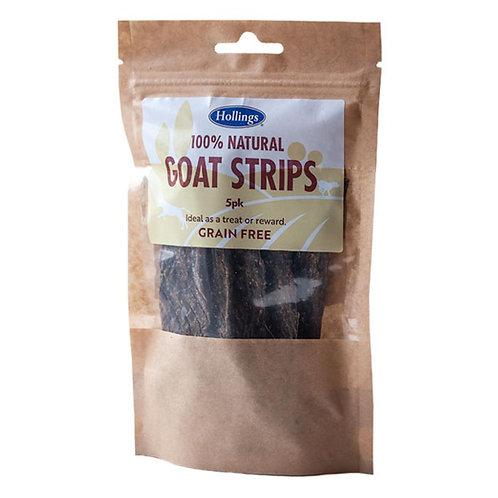 Hollings Goat Strips 5pcs (Grain Free) - Dog Treats
