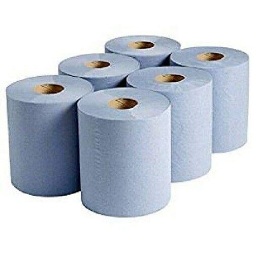 Blue Centrefeed Rolls