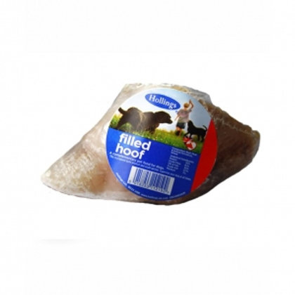Hollings Cow Hooves - Meat Filled - Dog Treats