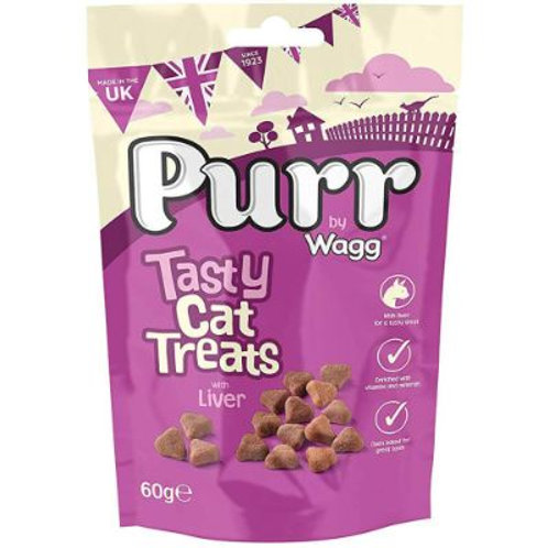 Purr by Wagg Tasty Cat Treats with Liver