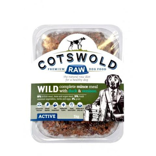Cotswold Wild Duck & Vension Mince - 500 g