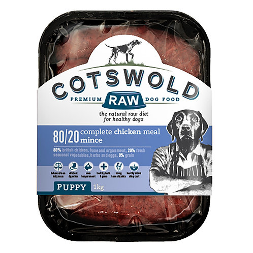 Cotswold Puppy - Chicken Mince-500 g