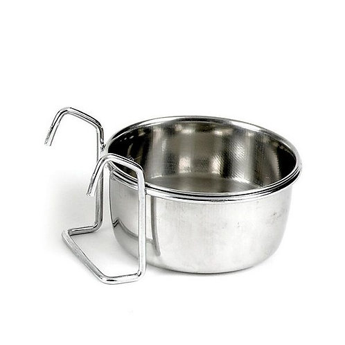 SHARPLES Stainless Setle Coup Cup & Hooks 30oz