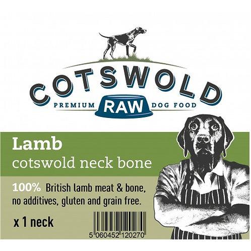 Cotswold Lamb Neck Bone x1