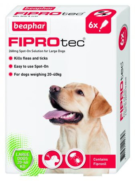Beapher FIPROtec® Spot-On for Large Dogs