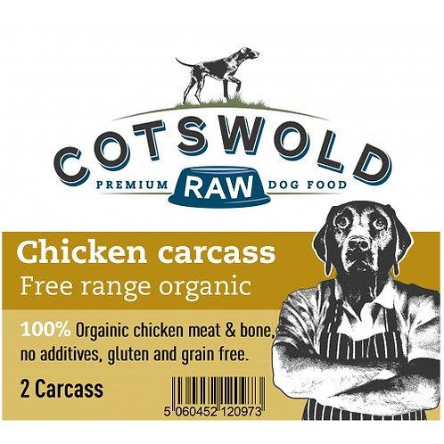 Cotswold Chicken Organic Carcass 150g
