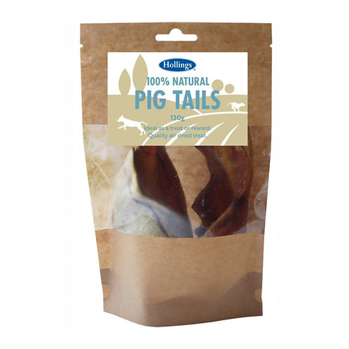 Hollings Pig Tails 120g - Dog Treats