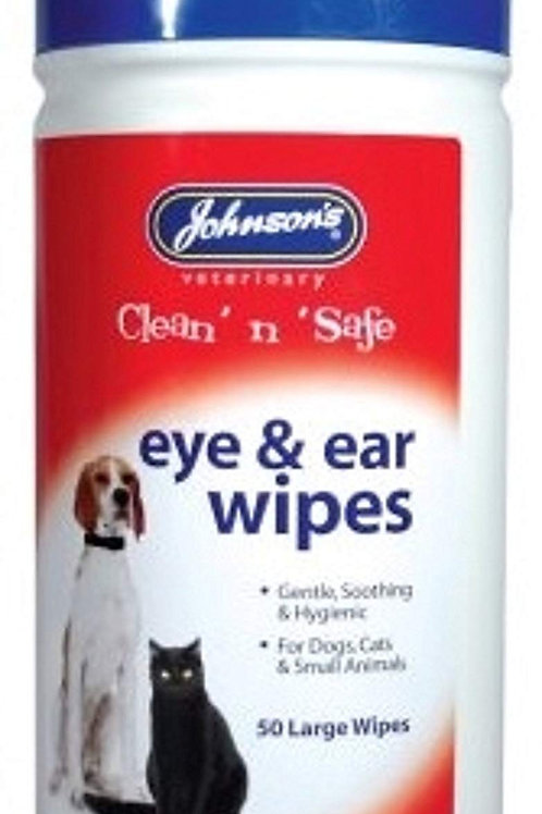 Johnson's Eye & Ear Wipes