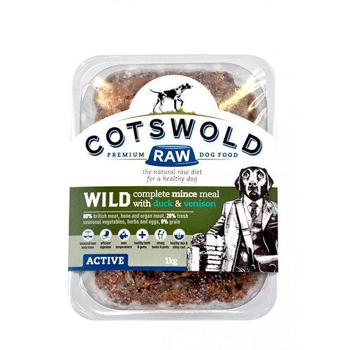 Cotswold Wild- Duck& Vension -1 Kg