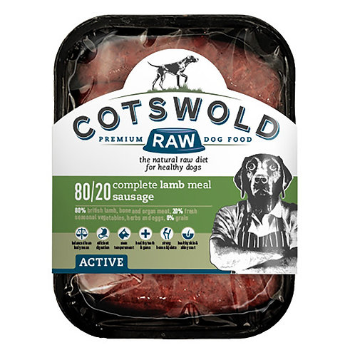 Cotswold Lamb Sousages - 80/20 Active 500 g