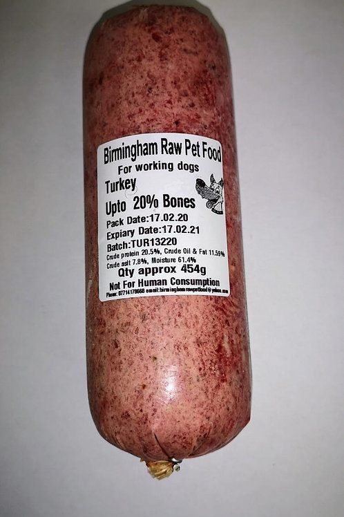 Birmingham Raw Food- Turkey