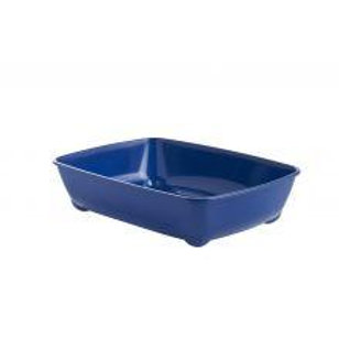 CAT LITTER TRAY LARGE BLUE