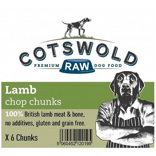 Cotswold Lamb  Chop Chunks X6