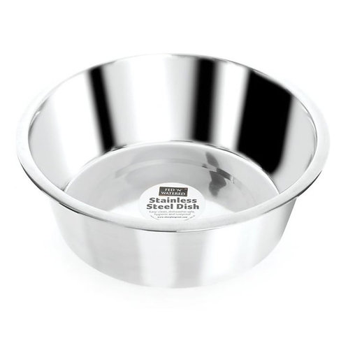 SHARPLES Watered Stainless Steel Standard Feeding Bowl 21cm