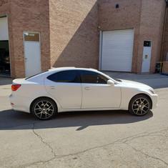 Lexus IS tint job