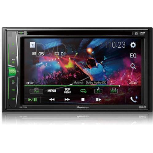 "Pioneer 6.2"" Multimedia DVD Receiver with Bluetooth AVH220EX"