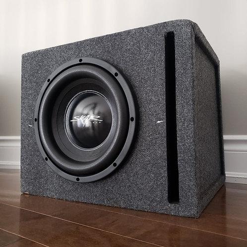 "10"" Skar Audio Dual 2 Ohm Subwoofer in Vented Box"