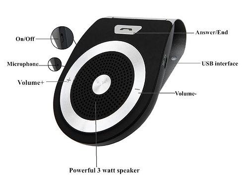 Bluetooth Visor Speaker - Hands Free Phone Pairing