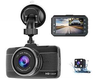 PGC Dual Dash Cam DVR - Front & Rear Recording