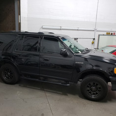 Ford Expedition tint job