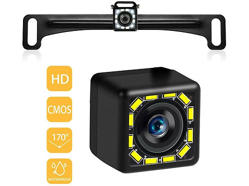LED Backup Camera (Plate Mount)