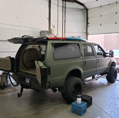 Ford Excursion tint job