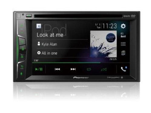 "Pioneer 6.2"" Multimedia DVD Receiver with Bluetooth and Apple CarPlay AVH1500NEX"