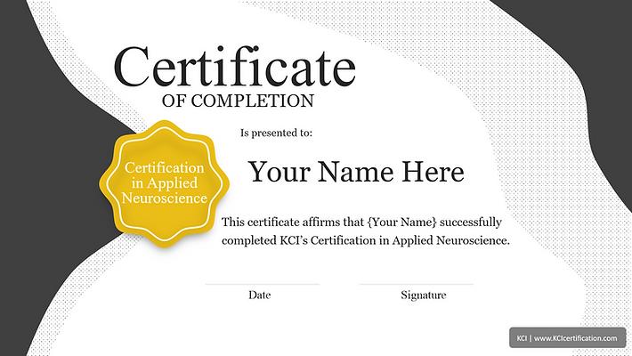 Certificate In Applied Neuroscience.png