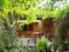 גן פרטי לכל צימר בגן עדן בערבה