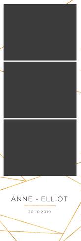 Geometric 2x6 Photo Strip