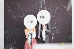 Custom Mr. and Mrs. Balloons
