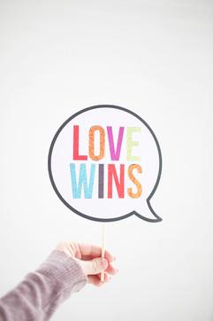 Love Wins Prop