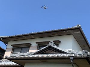 ドローンで屋根点検をさせて頂きました!