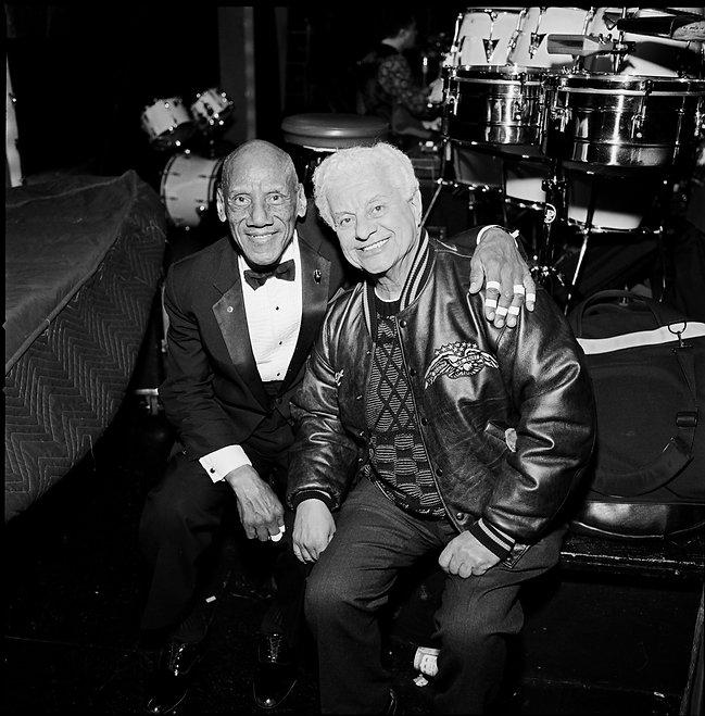 Candito and Tito Puente at the Apollo