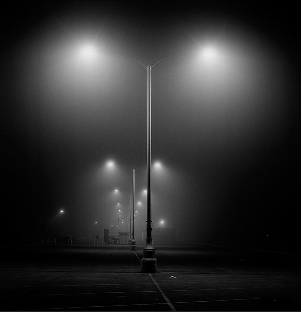 Pacific Coast Highway 02:30 am Hasselblad Kodak TMAX 400