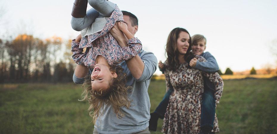 Family Fun in campo