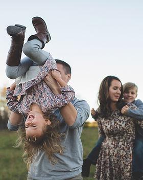 Diversão em Família no campo