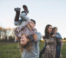 Familien-Spaß in Field