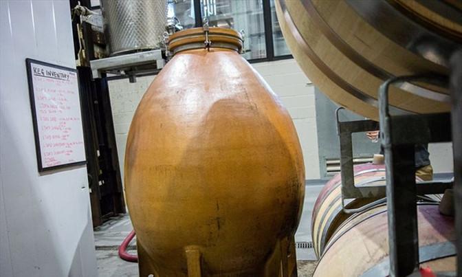 Stratus Vineyards embracing ancient winemaking method