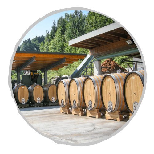 Schneckenleitner austrian oak barrels, ovals, and rounds for sale