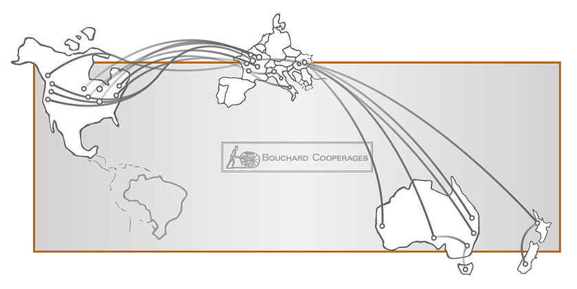 Bouchard Cooperages global logistics shipping.