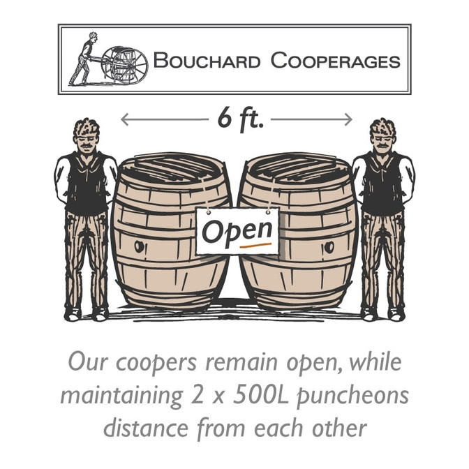 Wine Business Monthly: Bouchard Cooperages Family of Suppliers Use Reduced Teams and Extended Shifts