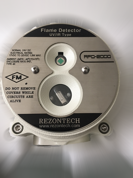 "Detector de Llama UV/IR ""Non-Explosion Proof"" REZONTECH"