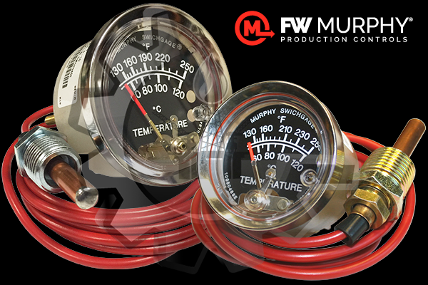 FW MURPHY® Indicador T/Interruptor (switch) de Temperatura