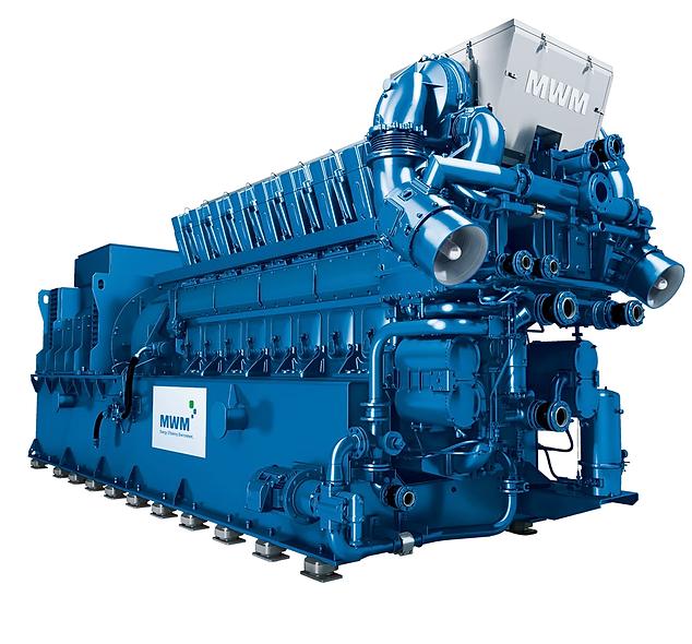 Generador a Gas 3750-5000 KVA 1500 Rpm DEUTZ