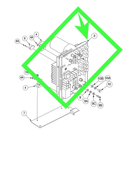 Switch BD Heatsink Asbly For Invertec-275 LINCOLN ELECTRIC